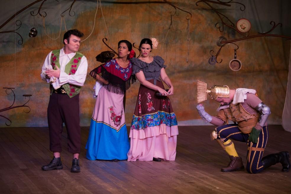 """Musical """"As Aventuras de Dom Quixote"""" será apresentado durante a temporada de férias na Unifor. — Foto: Ares Soares/Unifor"""