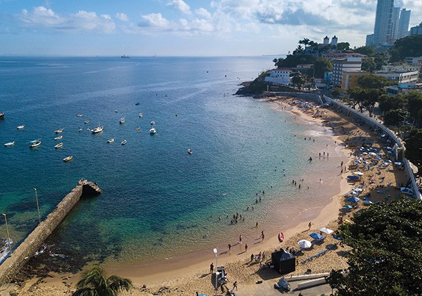 """Salvador é """"a mais misteriosa e bela das cidades do mundo"""", disse Jorge Amado (Foto: Getty Images)"""