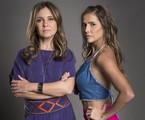 Adriana Esteves e Deborah Secco são Laureta e Karola em 'Segundo Sol' | João Cotta/TV Globo