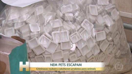 Polícia prende quadrilha que falsificava produto veterinário; saiba como entrar em contato com a empresa
