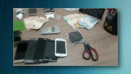 Operação prende suspeitos de tráfico de drogas e roubo de caminhonetes