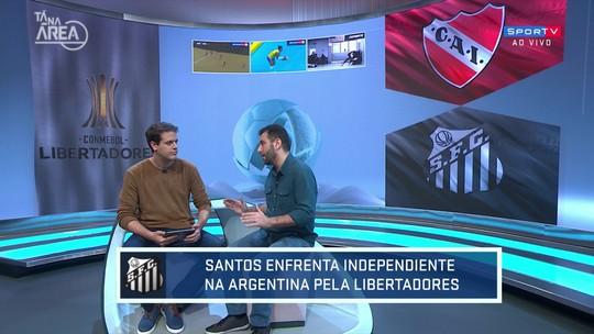 Loffredo aposta em empate do Santos contra o Independiente, na Libertadores