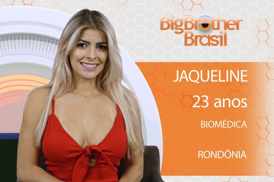 Jaqueline está no BBB 18! Conheça a participante