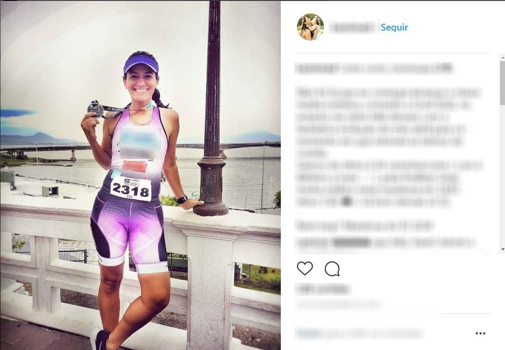 Kamilla Medeiros morreu na tarde de domingo (22), após ser atropelada pelo próprio carro, em Curitiba, segundo a Polícia Civil (Foto: Reprodução/Instagram)