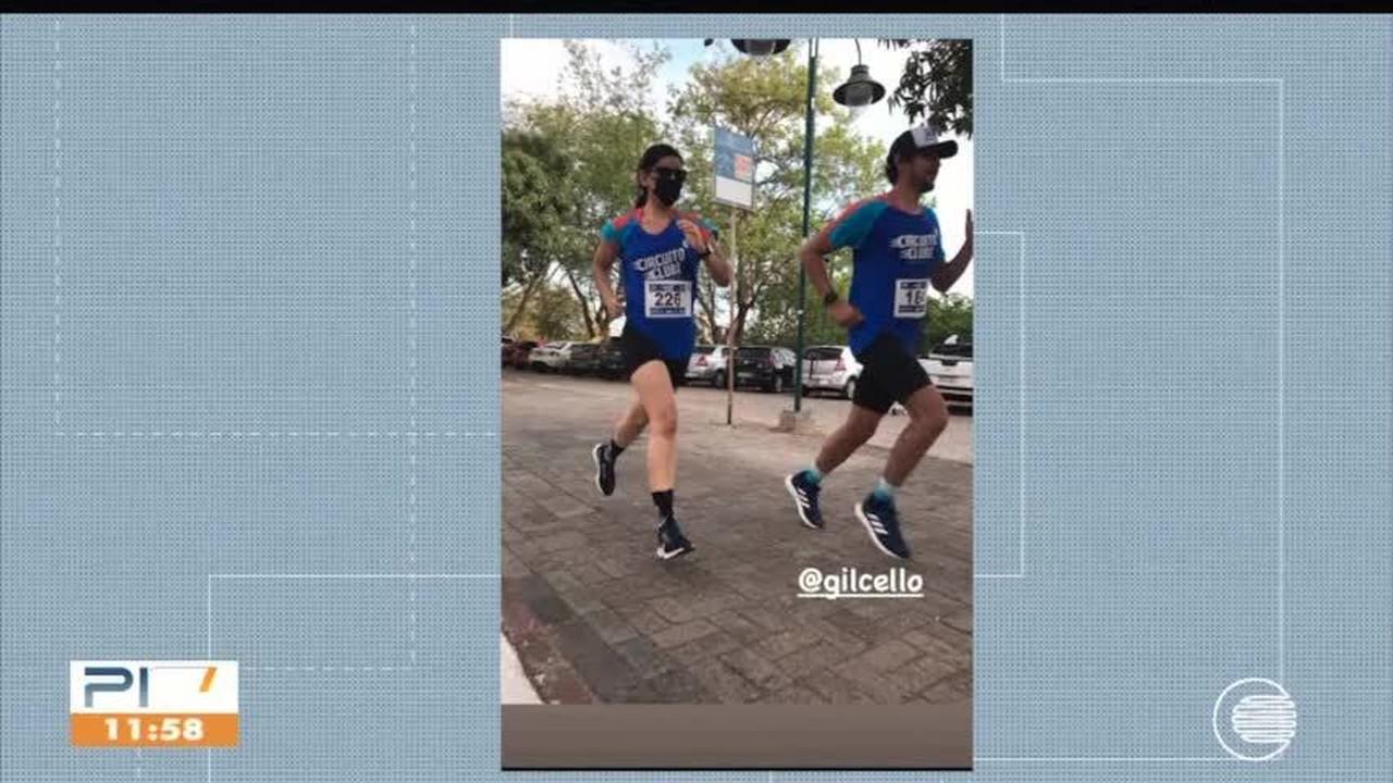 Competidores começam a correr percursos do Circuito Clube Corrida Virtual