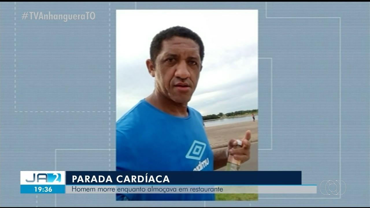 Homem morre após sofrer parada cardíaca em restaurante de Araguaína