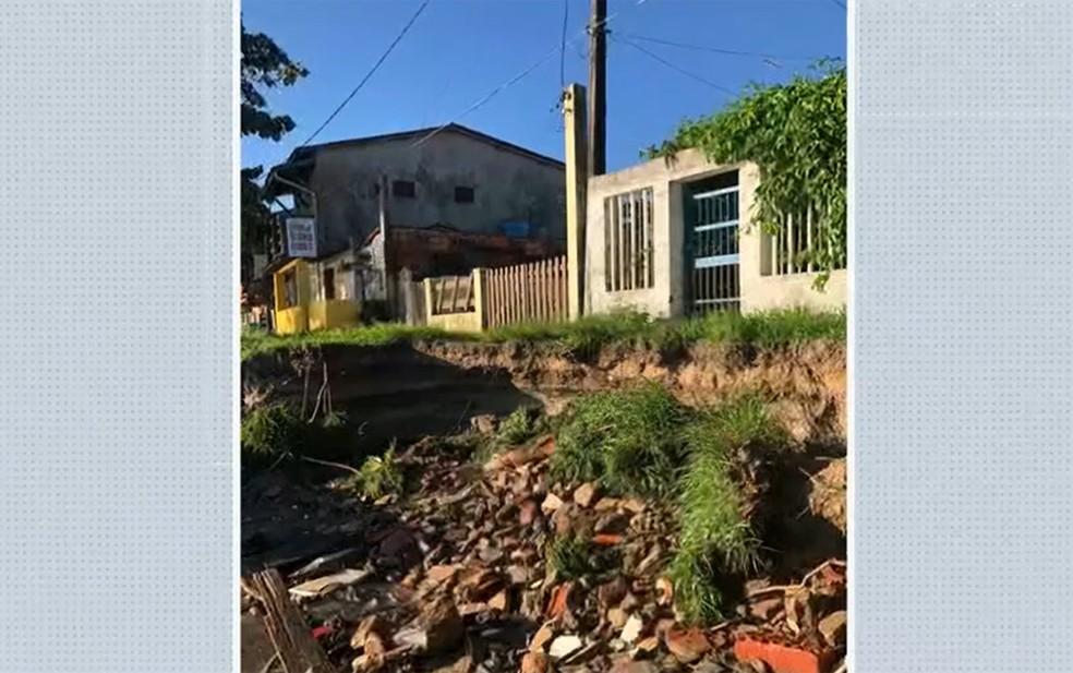 Prefeitura disse que está ciente do caso e que busca soluções — Foto: Reprodução/TV Bahia