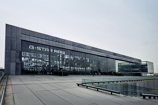 The G-Star headquarters in Amsterdam, designed by Dutch