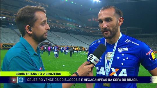 Barcos fala sobre conquista da Copa do Brasil