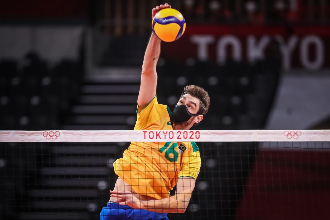 Lucão estreia nas Olimpíadas usando máscara: 'Não vejo mais dificuldade nenhuma'