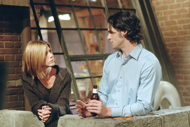 Jennifer Aniston como Rachel em cena de Friends (Foto: Getty Images)