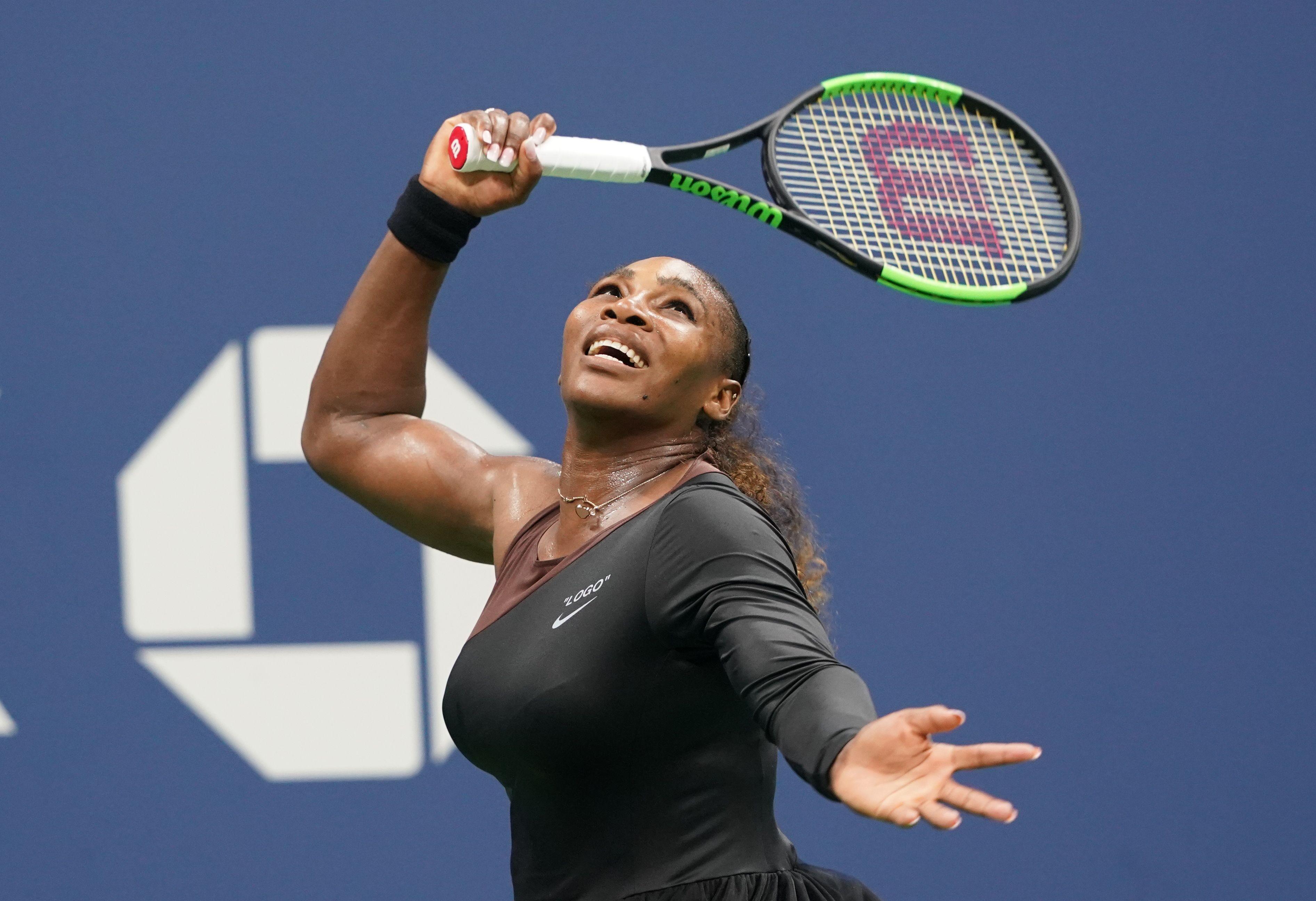 Serena venceu na estreia no US Open