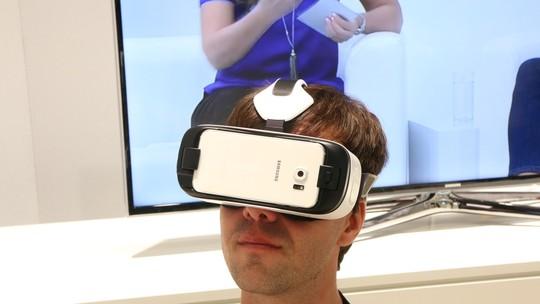 Testamos o Gear VR Innovator Edition: 'Oculus' Samsung fica ainda melhor