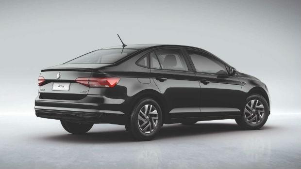 Volkswagen Virtus Sense para PCD (Foto: Divulgação)