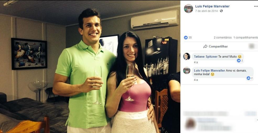 Casal estava junto havia cinco anos  (Foto: Reprodução/Facebook)