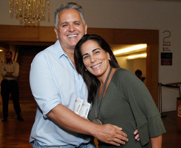 Gloria Pires e Orlando Morais (Foto: Wallace Barbosa/AgNews)