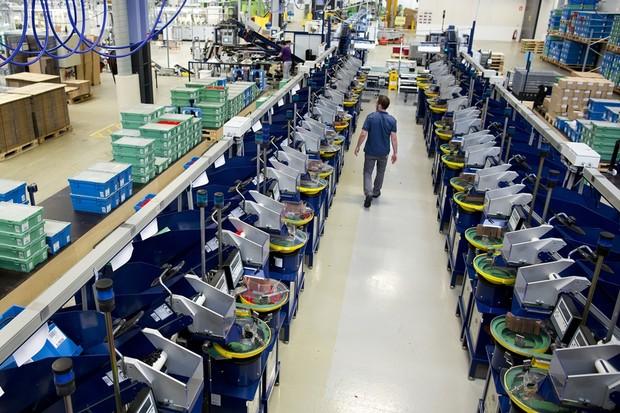 Fábrica Lego (Foto: Divulgação)
