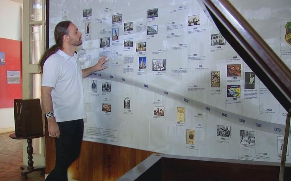 Museu prepara espaço dedicado a escritora em Jaú  (Foto: TV TEM / Reprodução )