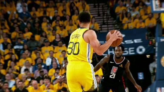 Virada espetacular do Los Angeles Clippers sobre os Warriors é o destaque da semana na NBA