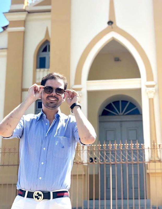 Gustavo Mendes depois da bariátrica (Foto: Arquivo pessoal)