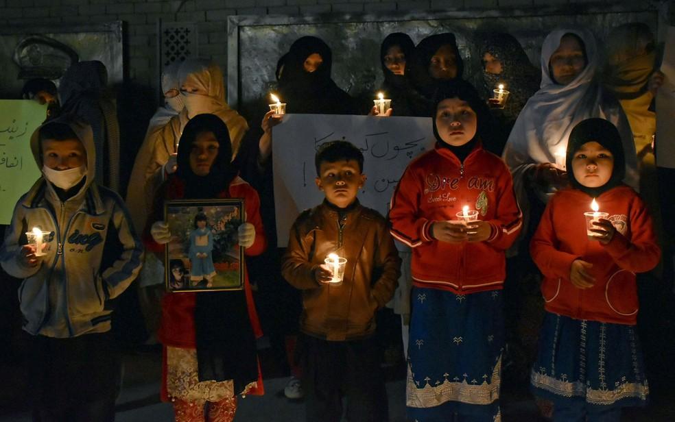 Famílias de Kasur dizem sentir-se inseguras com homicídios (Foto: Reuters/Naseer Ahmed)