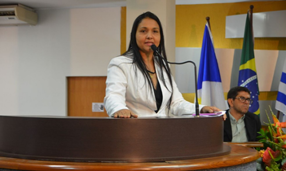 Vanda Monteiro foi eleita para o primeiro mandato de deputada — Foto: Divulgação/Câmara de Vereadores de Palmas