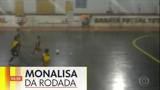 Monalisa da Rodada: 'Pais coruja' enviam vídeos dos gols dos filhos pelo VC no Hora 1