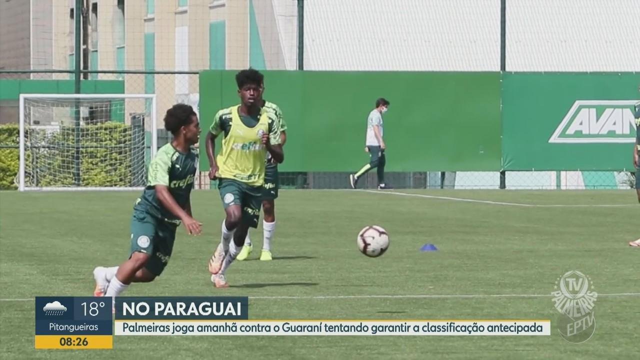 Palmeiras enfrenta o Guaraní em busca da classificação na Libertadores