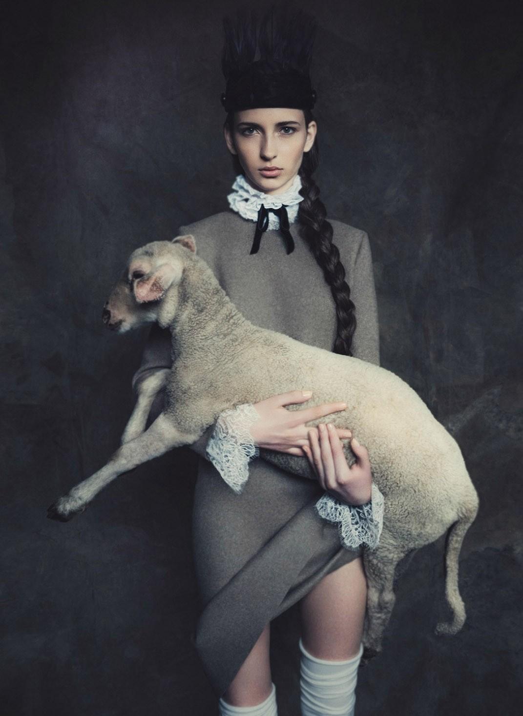 Áries (Foto: Jacques Dequeker/ Arquivo Vogue)