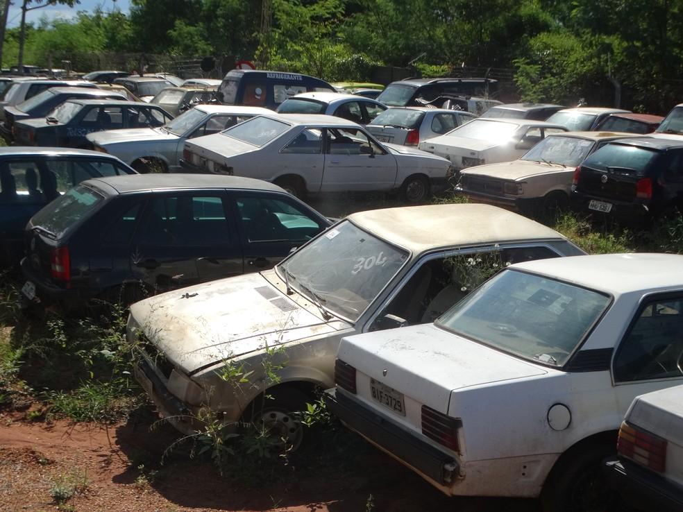 Leilão de veículos on-line começa nesta sexta-feira (13) (Foto: Prefeitura de Presidente Epitácio/Divulgação)