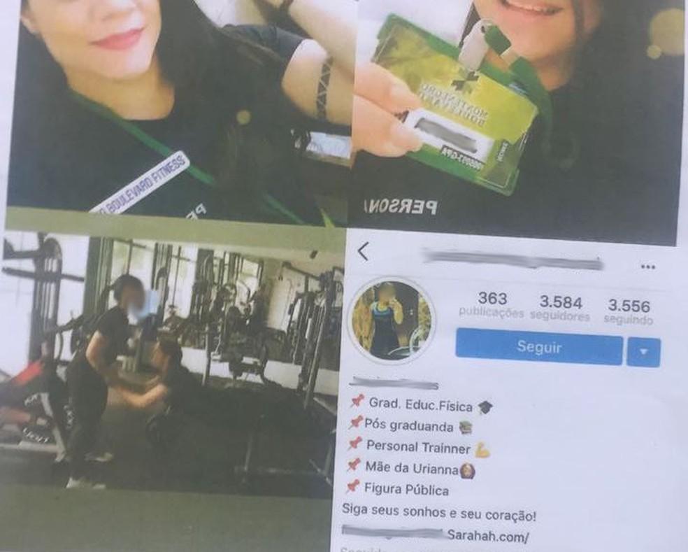 -  Mulher é presa suspeita de falsificar carteira para atuar como personal em condomínio de luxo em Belém.  Foto: Reprodução / Polícia Civil