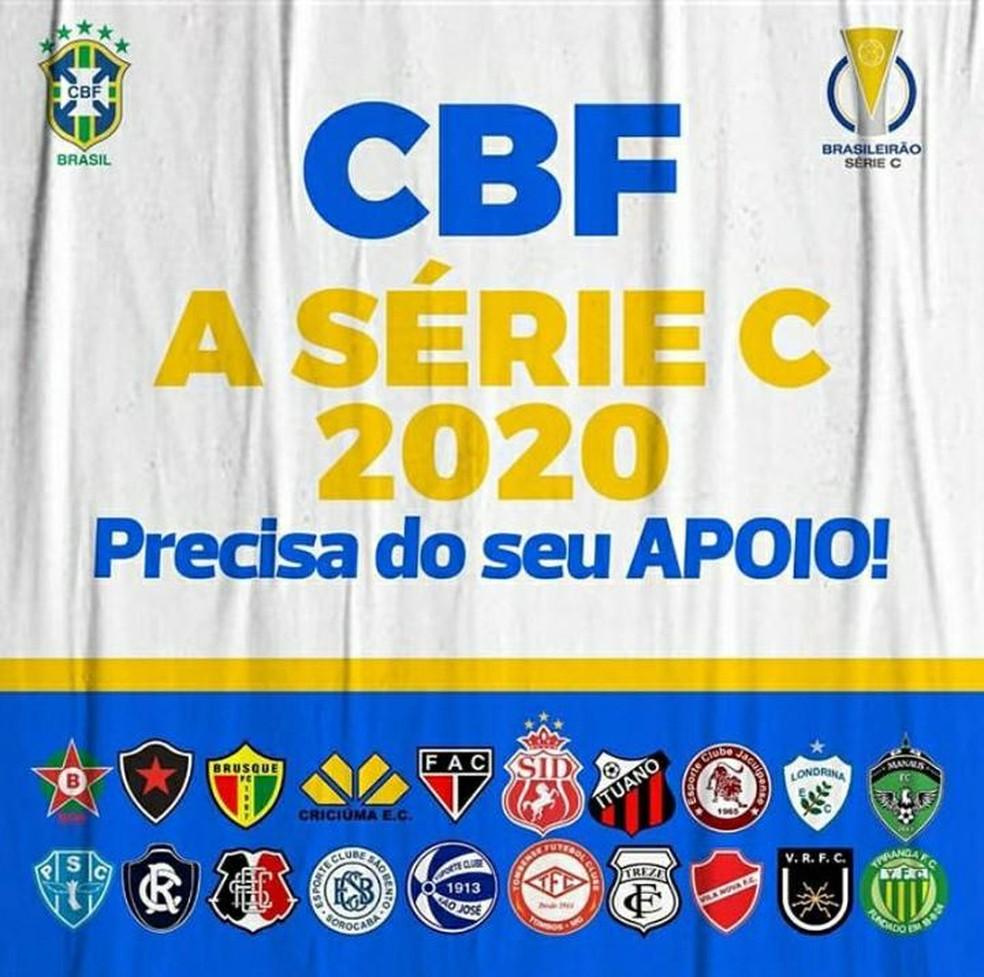Serie C Clubes Decidem Preparar Projeto Antes De Se Reunir Com A Cbf Para Buscar Auxilio Brasileirao Serie C Ge