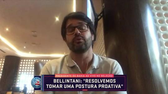 Presidente do Bahia conversa com o Seleção Sportv