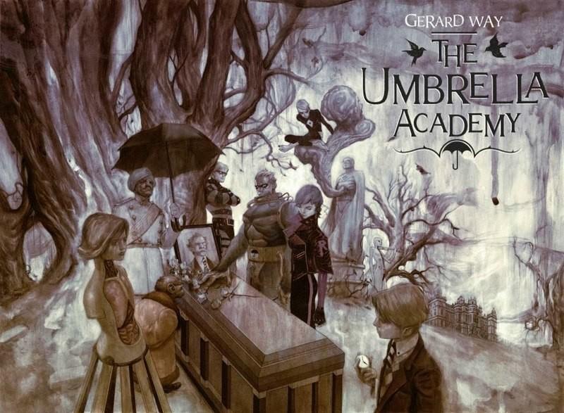Brasileiro Gabriel Bá ilustra os quadrinhos de The Umbrella Academy (Foto: Reprodução/Gabriel Bá/Dark Horse Comics/Wikimedia Commons)