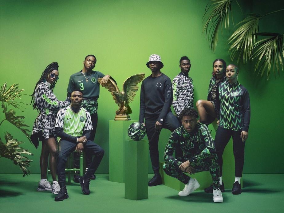 f7a0d6348a ... Fornecedora lança casacos da seleção nigeriana e vende tudo em poucas  horas