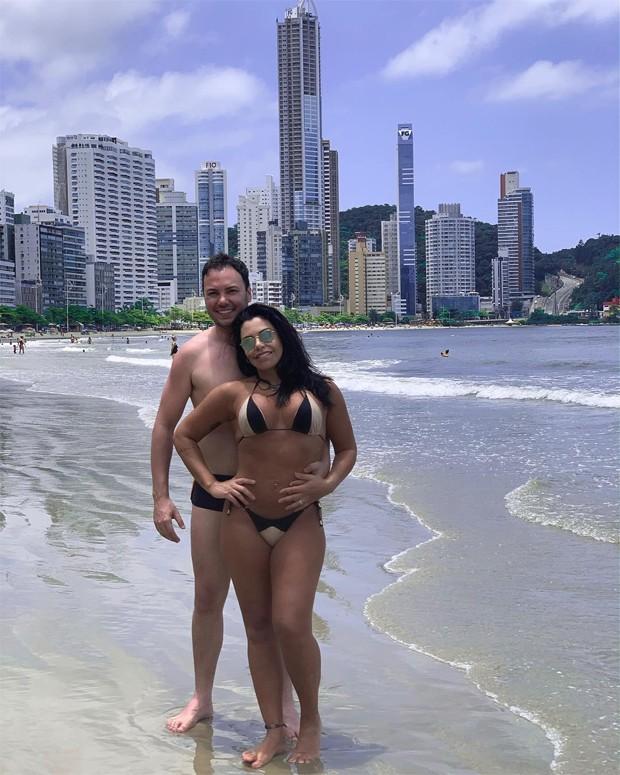 João Bosco e Audrei Franco (Foto: Reprodução/Instagram)