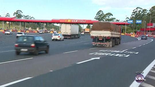 Pedágio na freeway voltará a ser cobrado a partir de sexta-feira no RS
