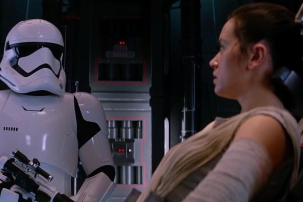 Daniel Craig em Star Wars - O Despertar da Força (2015) (Foto: Reprodução)