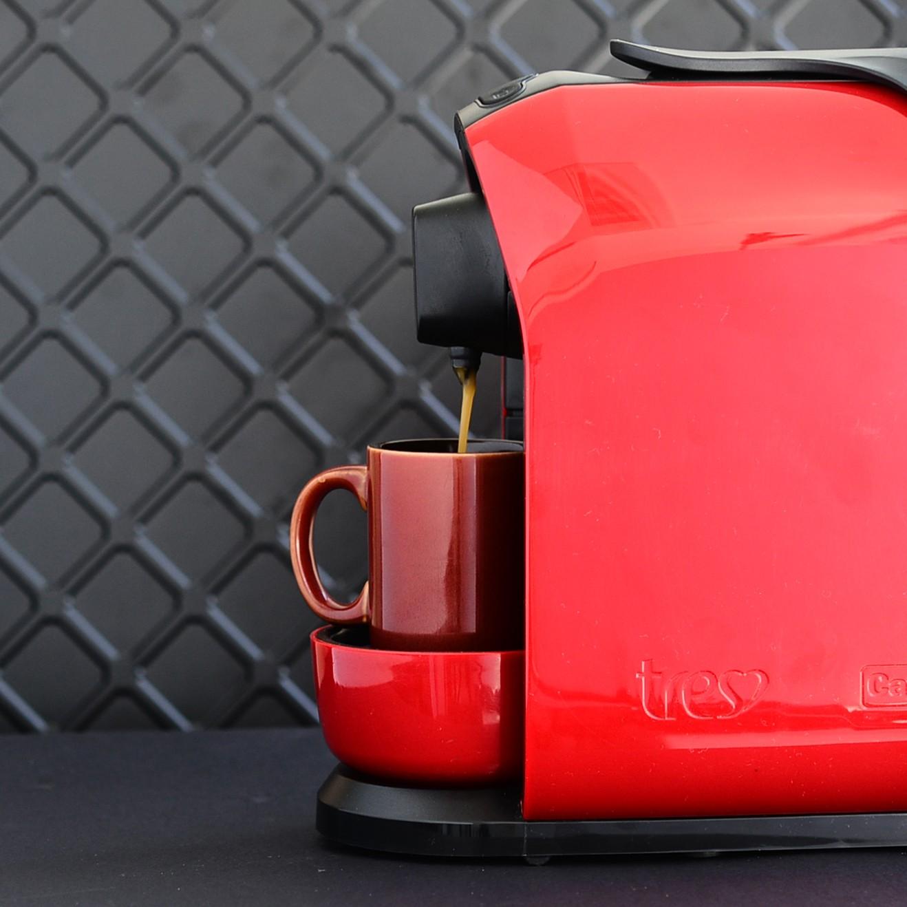 Café é uma das bebidas disponíveis em cápsulas da Tres  (Foto: Divulgação)