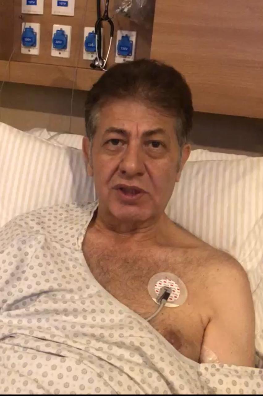 Após 5 dias em coma, cônsul da Síria grava vídeo e diz que se recupera bem do coronavírus