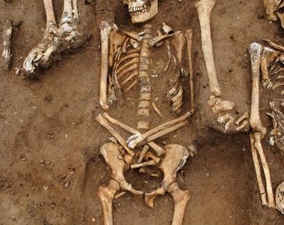 Esqueletos de 48 vítimas da peste bubônica são descobertos na Inglaterra