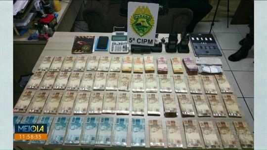 Suspeito de contrabandear cigarros do Paraguai é preso com mais de R$ 65 mil em Cianorte