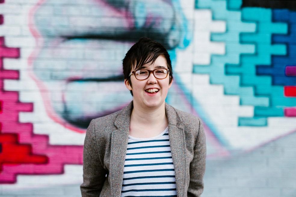 Lyra McKee, em Belfast, em foto de maio de 2017 — Foto: Jess Lowe Photography/Handout via REUTERS