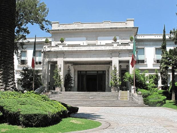 Los Pinos, residencia oficial da presidecia (Foto: Divulgação)