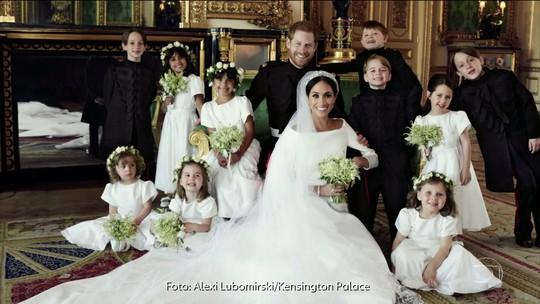 Casamento real: veja as fotos oficiais de Harry, Meghan e família