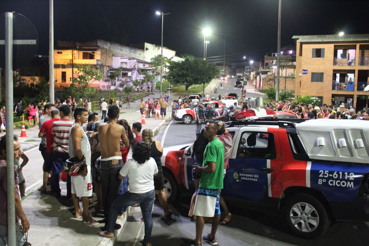 Homem é morto com quatro tiros em praça na Zona Oeste de Manaus