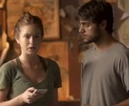 Eliza (Marina Ruy Barbosa) e Jonatas (Felipe Simas) em 'Totalmente demais' | Reprodução