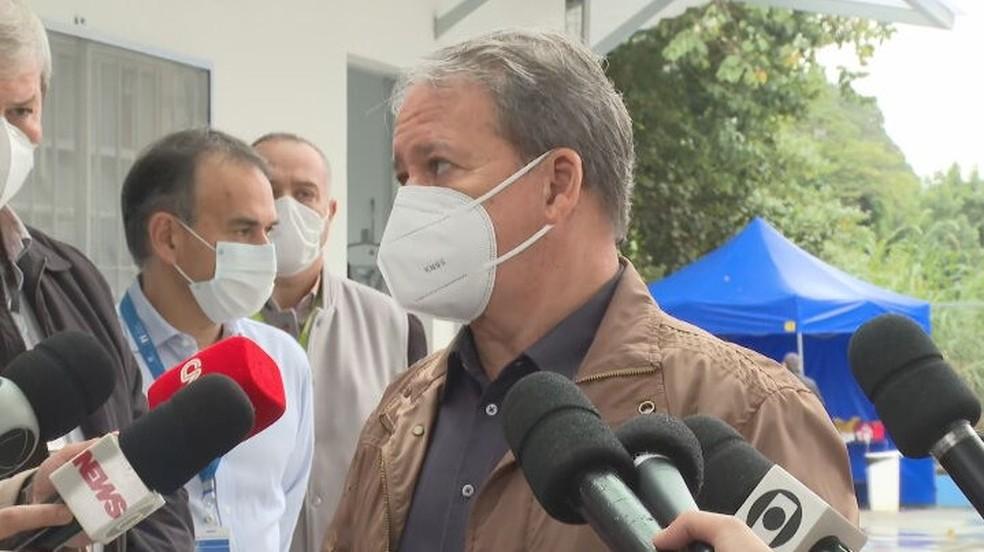 Secretário municipal da Saúde, Edson Aparecido— Foto: Reprodução/TV Globo