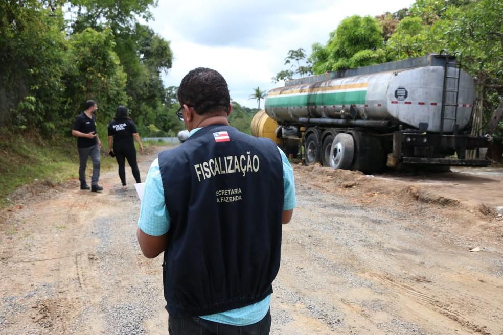 Não foi informada a quantidade de mandados cumpridos na ação — Foto: Alberto Maraux/SSP-BA