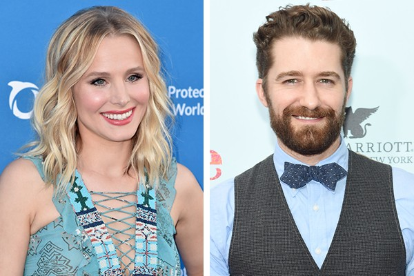 Kristen Bell e Matthew Morrison (Foto: Getty Images)